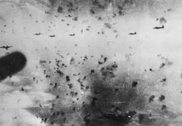 b 17s through flak over schweinfurt 14 oct 39. Black Bedroom Furniture Sets. Home Design Ideas